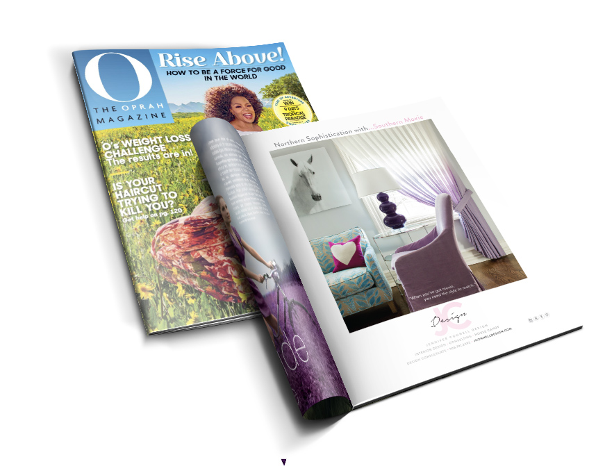 Interior Designer Oprah Magazine April 2017