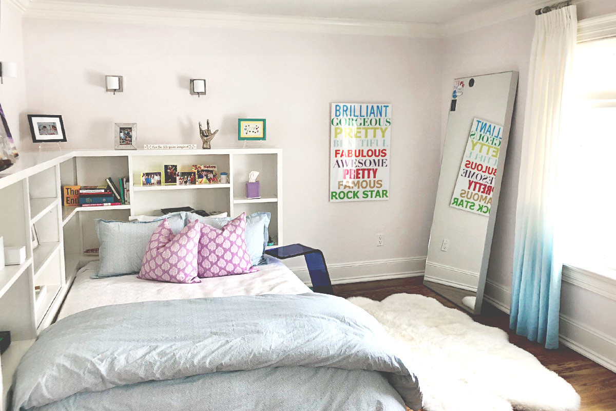 Redecorating a Childhood Bedroom with BoHo Accents