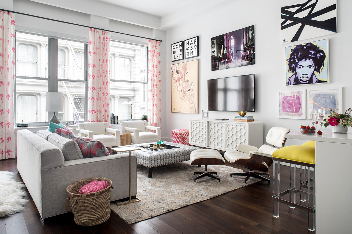 SoHo NYC Apartment Interior Decor