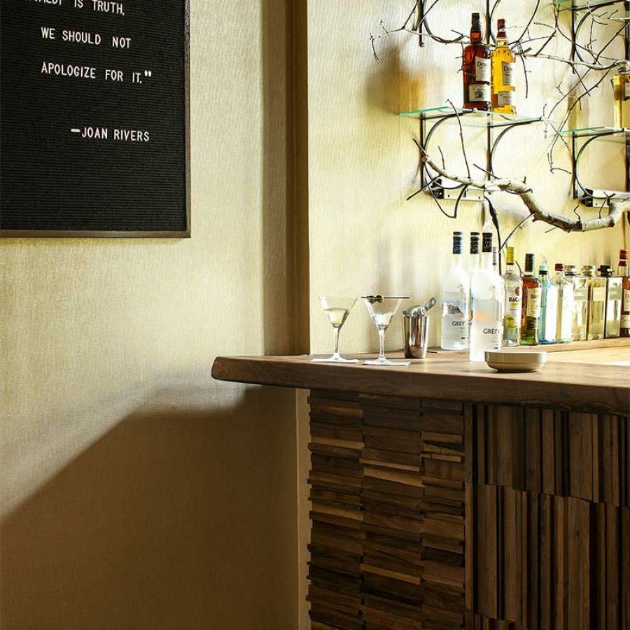 035 Rustic Natural Bar Decor Interior Design Tile