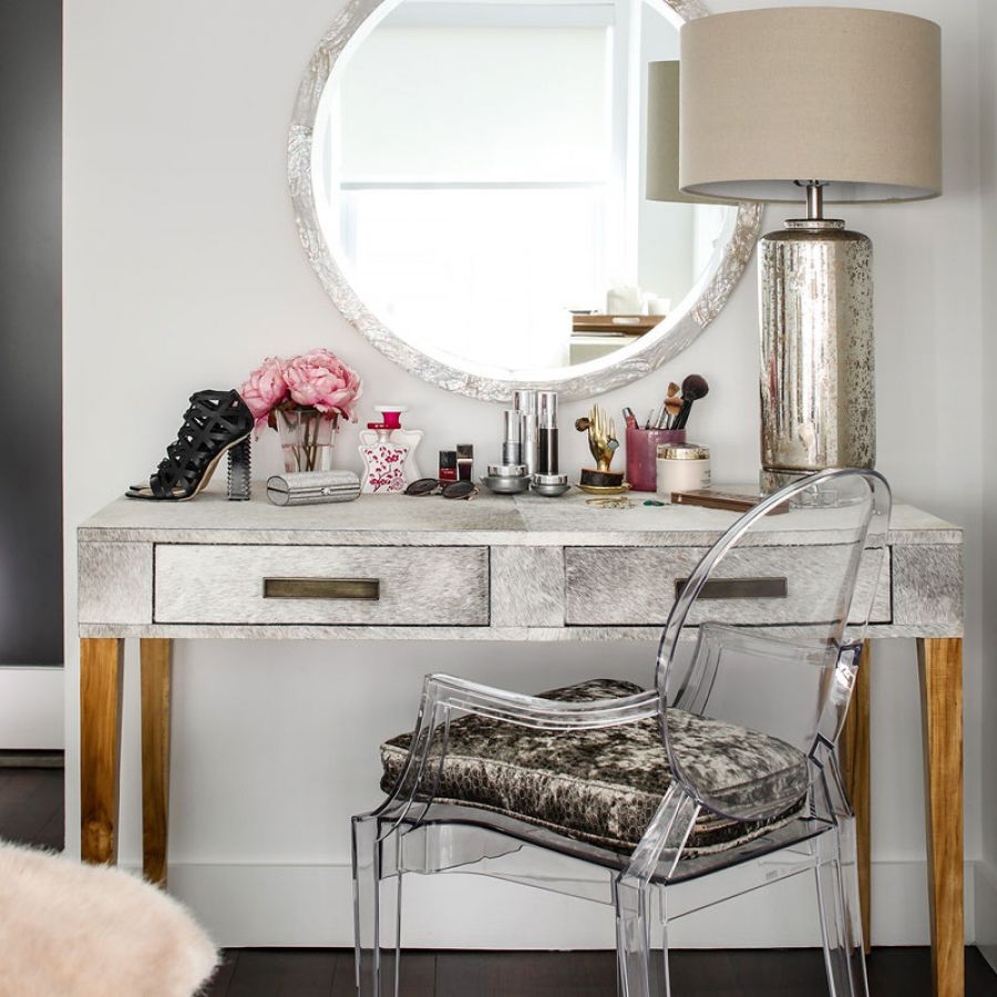 -Metallic-Silver-Make-Up-Desk-custom-Acrylic-Chair
